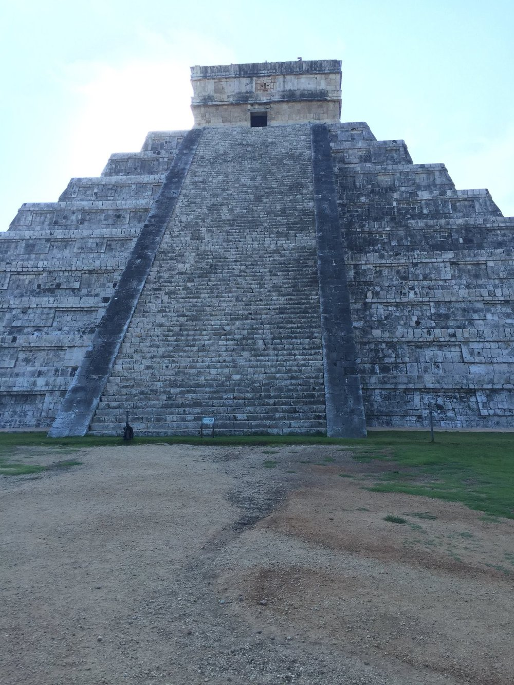 El Castillo in the Morning Sun