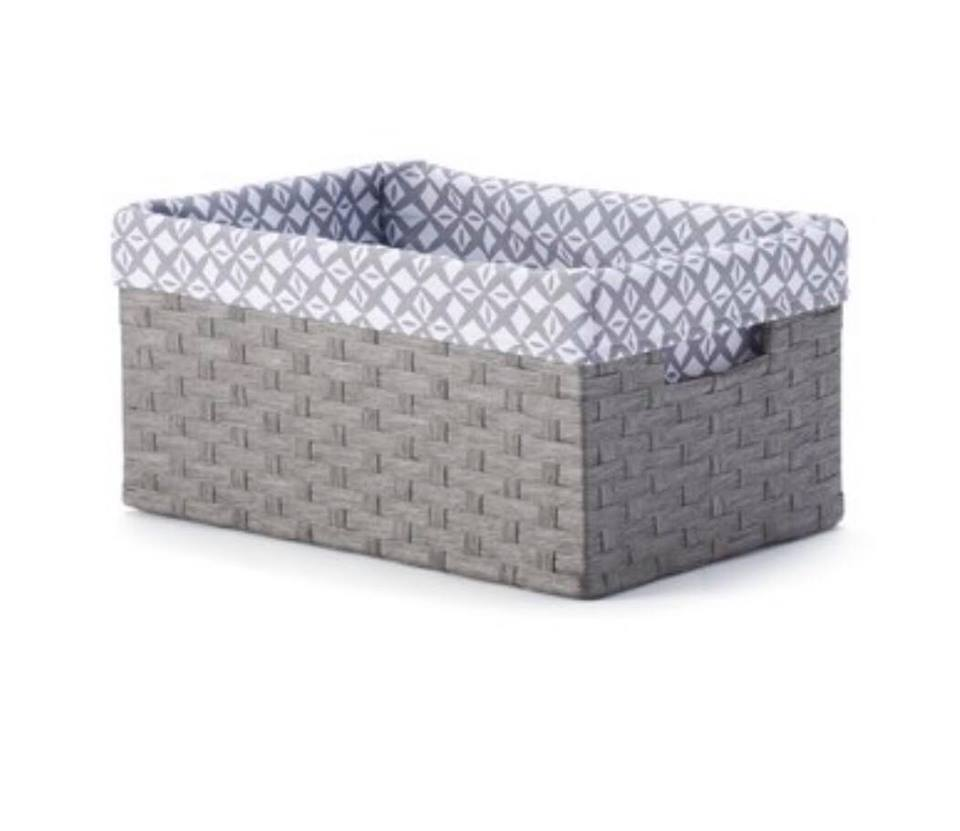 Kohls Baskets Gray