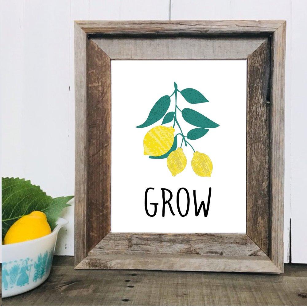 Lemon Printable