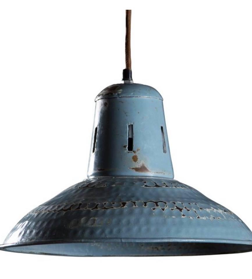 Chippy Vintage Aqua Pendant light