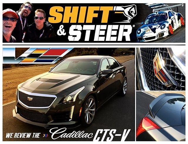 Tune in to #shiftandsteer #Podcast as we discuss driving the #cadillacctsv both @bonspeedbrad @motorator give their impression and our guest is from @gttechnik  #cars #racing #performance #automobiles