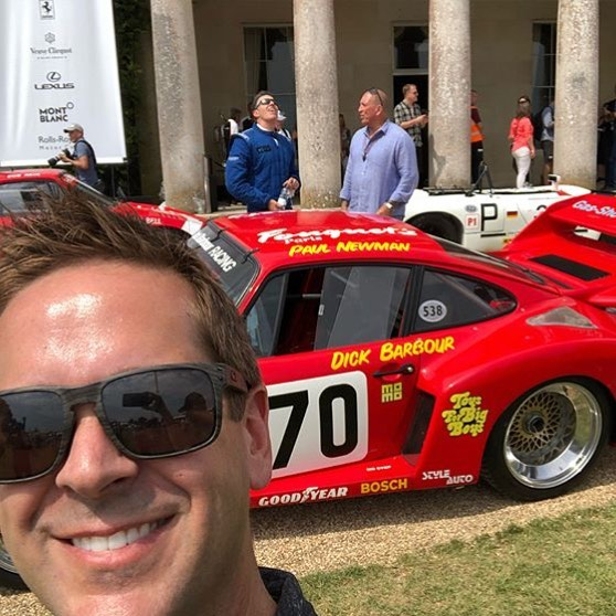 We are jealous because @motorator is in #england at #fosgoodwood with @adamcarollaofficial