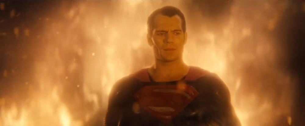 Superman Reflects on Mankind in Capitol Building Explosion