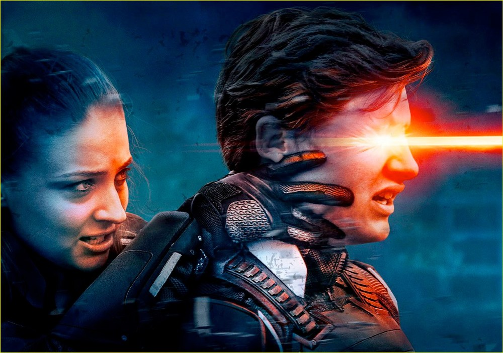 Cyclops and Jean Grey from X-men: Apocalypse