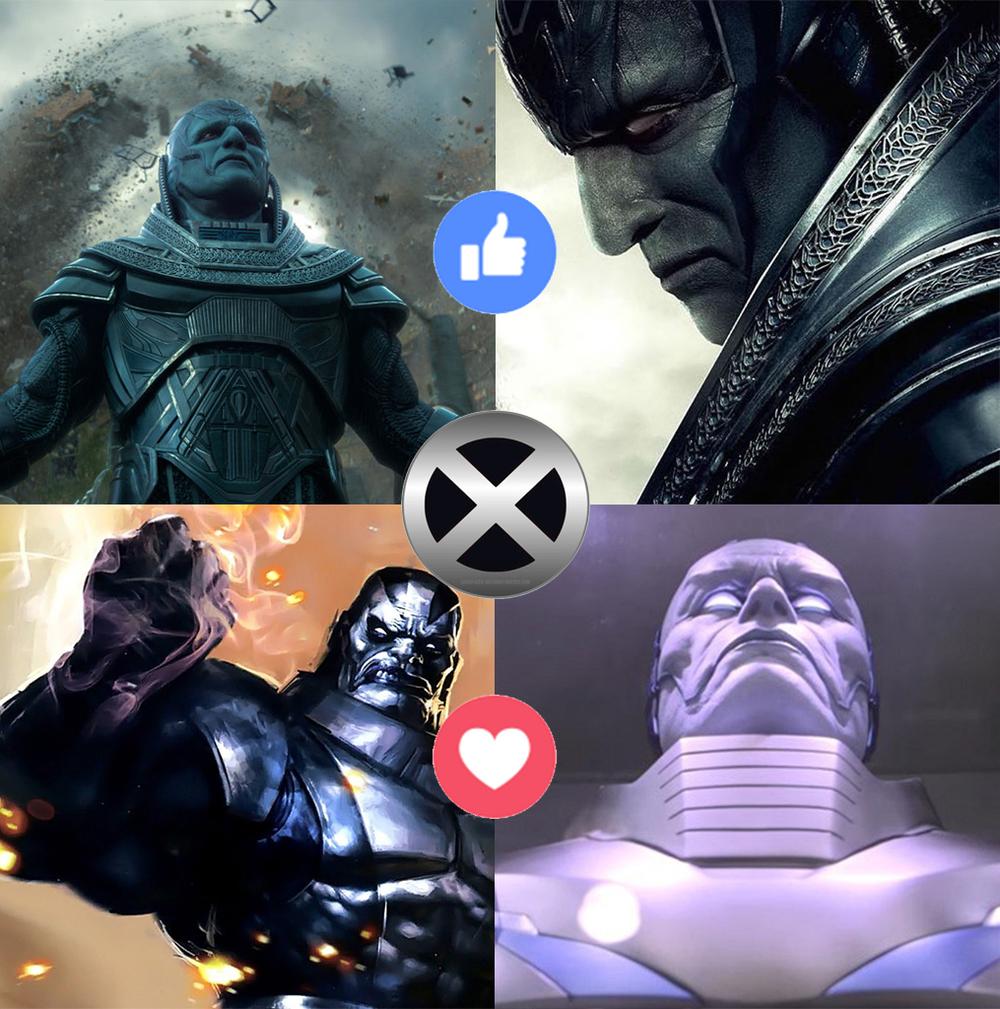 Apocalypse vs Unused Concept for X-men: Apocalypse
