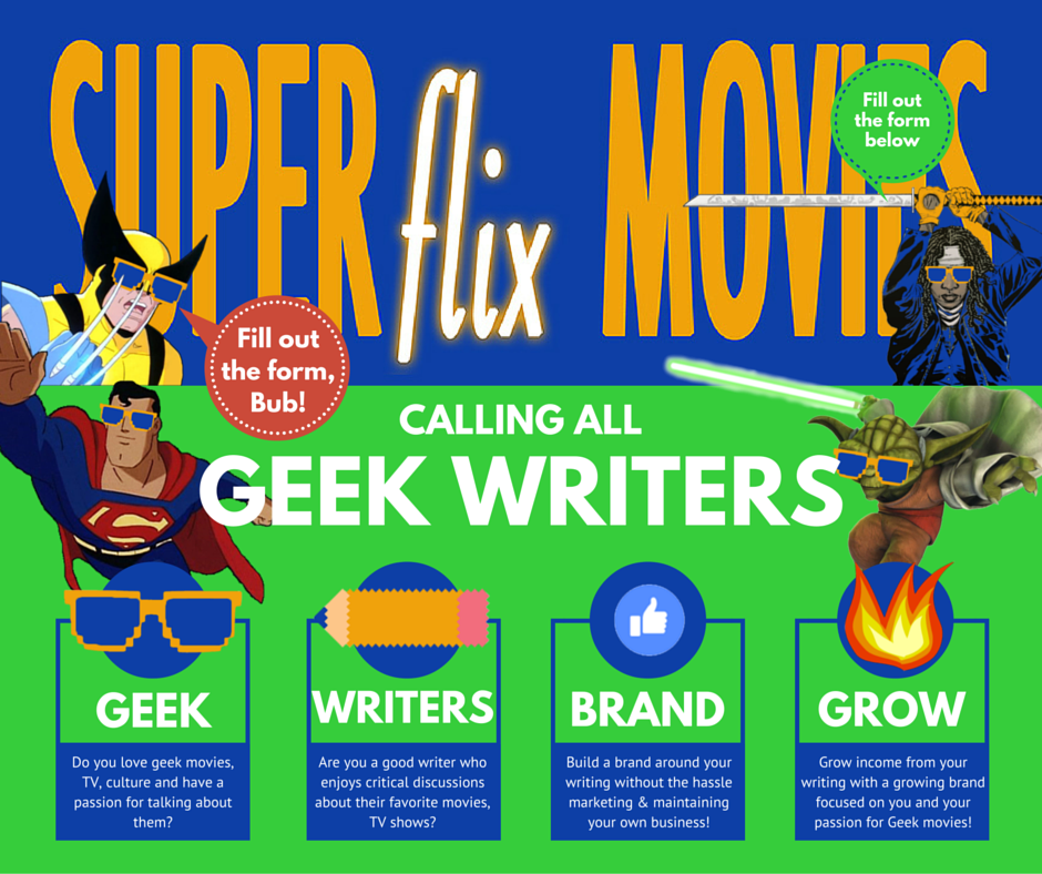 Calling all Geek Writers!