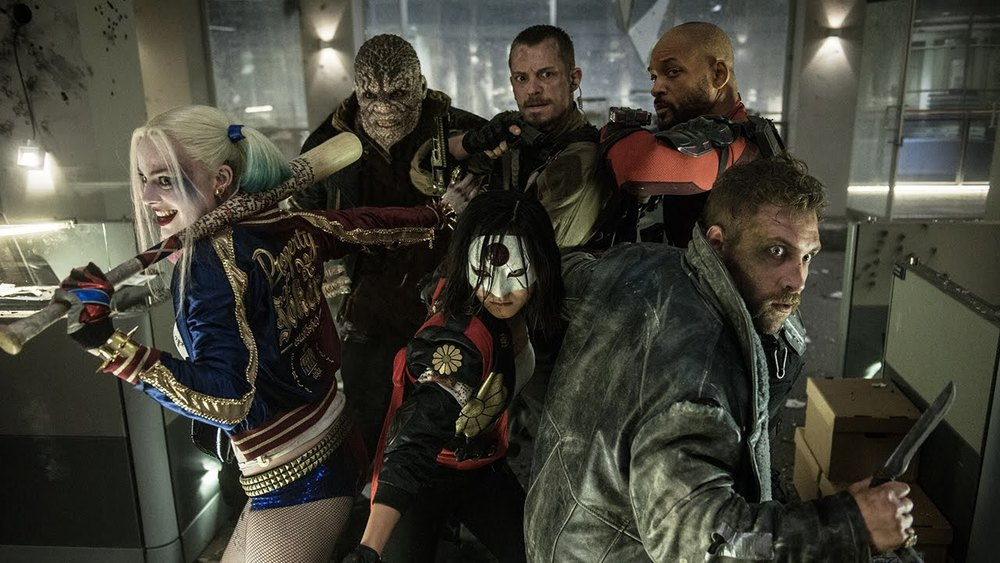 Suicide Squad Protecting Rick Flagg