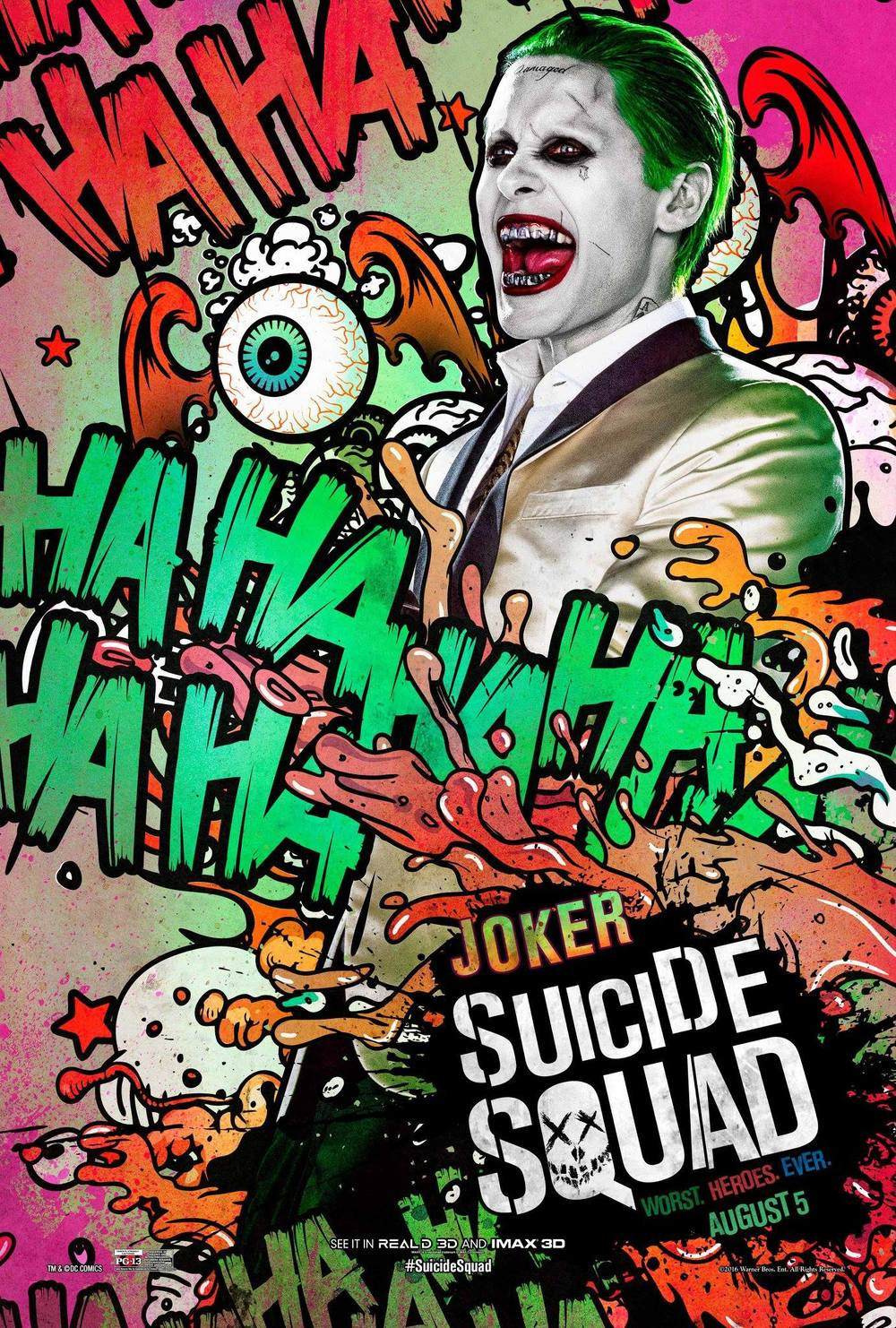 The Joker Jared Leto Suicide Squad