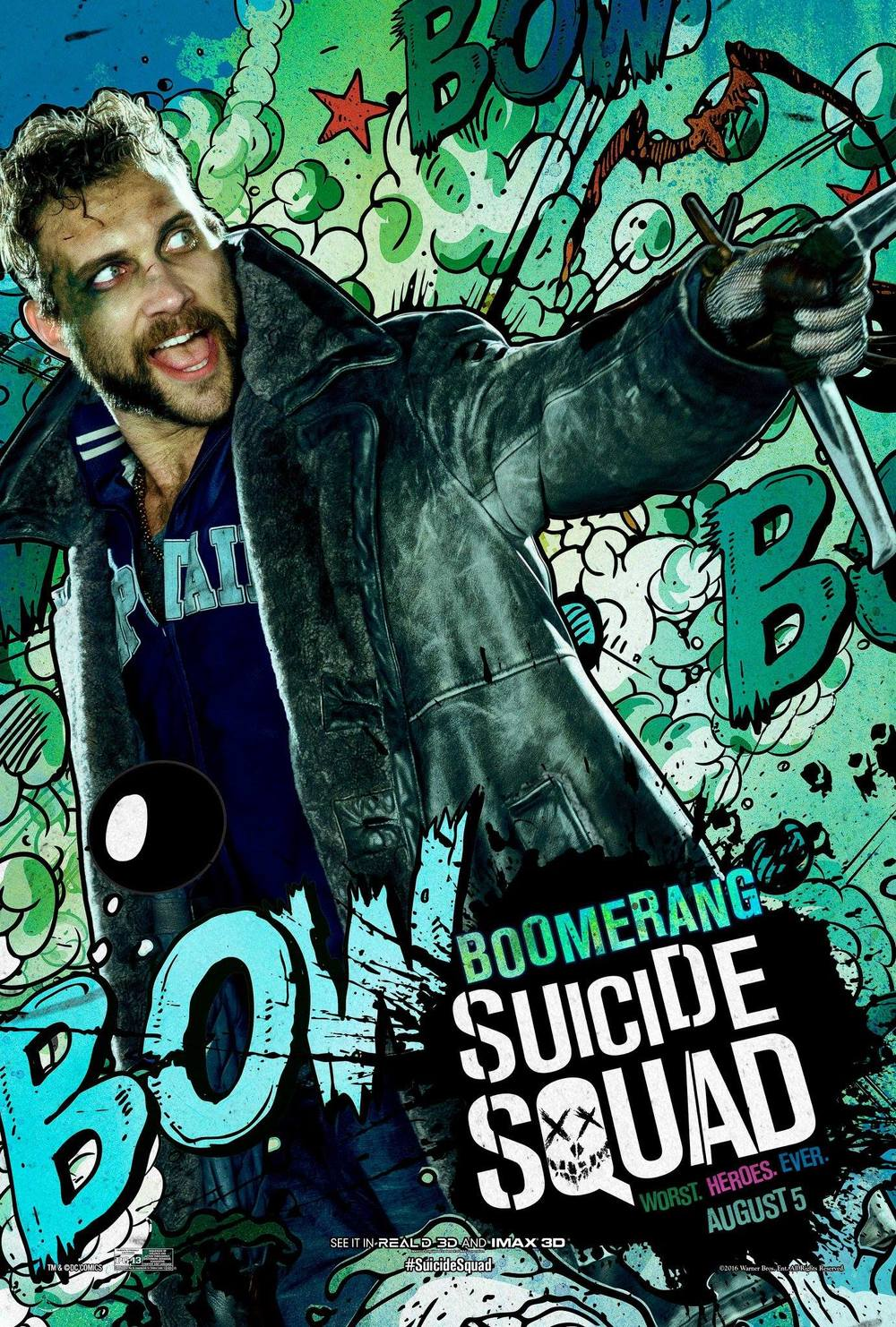 Boomerang Suicide Squad Jai Courtney