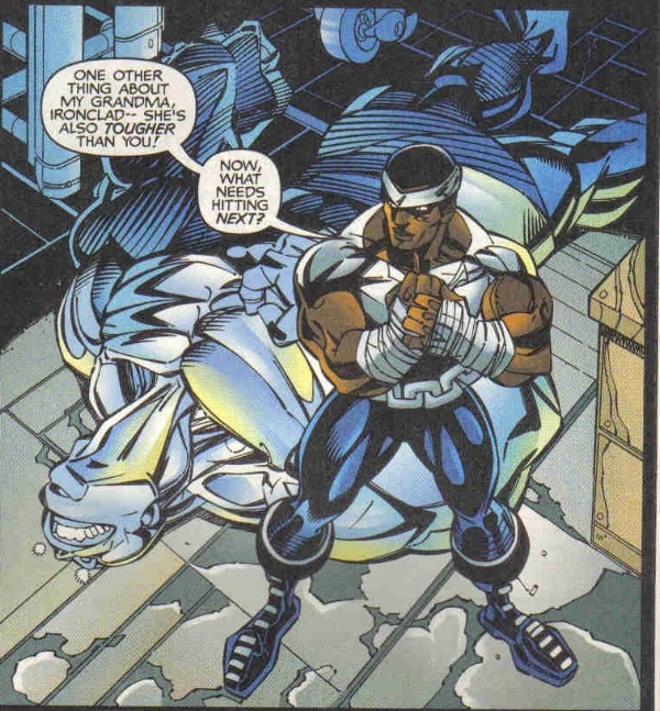 Luke Cage KO's Hulk Rival Ironclad with one-punch