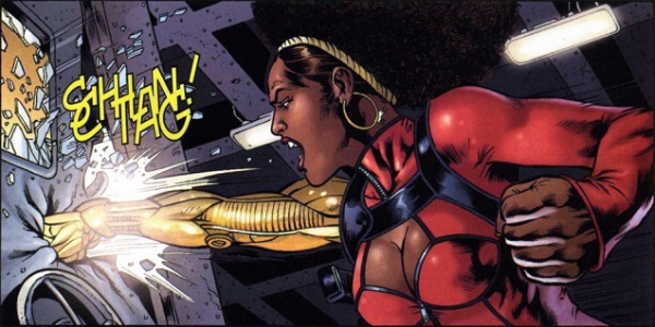 Misty Knight from Luke Cage's Marvel comics