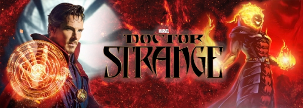 Dormammu and Doctor Strange Marvel Comics