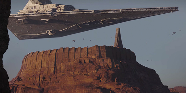 Empire Occupation of Jedha in Rogue One A Star Wars Story