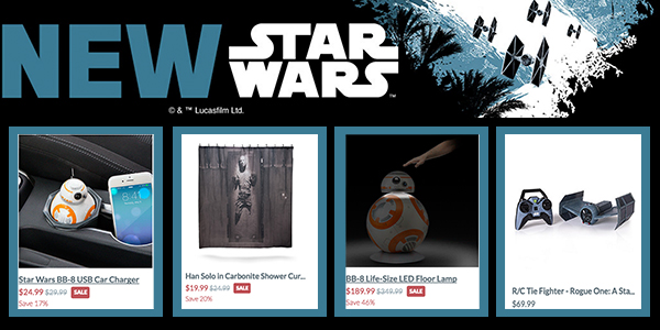 Star Wars Holiday Gift Ad THINKGEEK