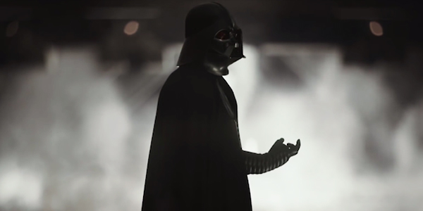 Rogue One Darth Vader Chokes Director Krennic on Mustafar