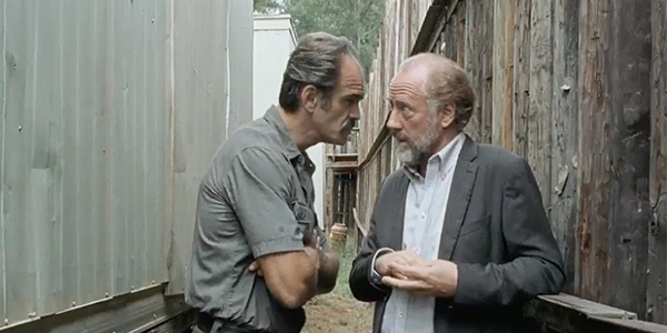 Gregory and the Saviors from The Walking Dead