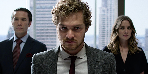 Danny Rand played by Finn Jones in Iron Fist marvel Netflix Original