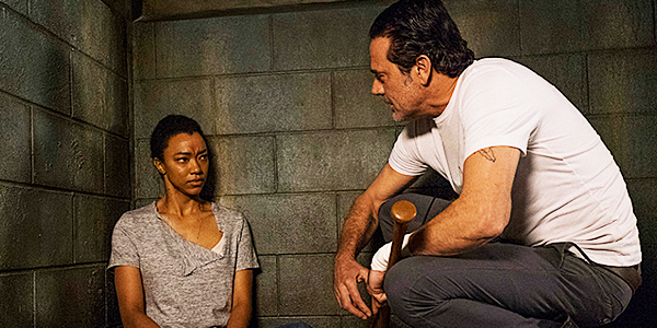 Negan Tries to Recruit Sasha on the Walking Dead