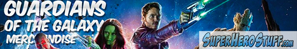 SUPERHERO STUFF Banner Ad Guardians of the Galaxy Stuff