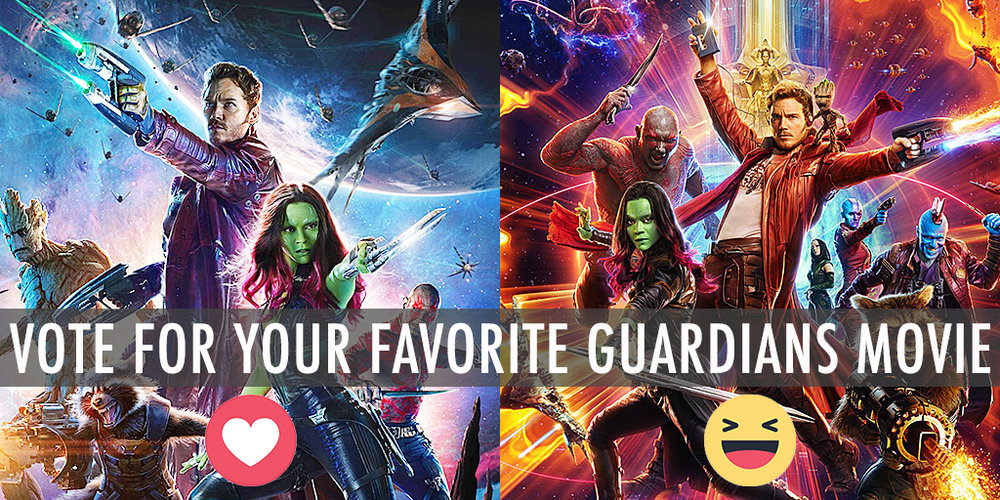 Which is your favorite Guardians of the Galaxy movie?