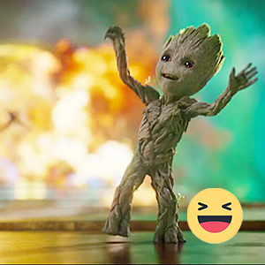 Guardians of the Galaxy vol 2 Baby Groot Dancing