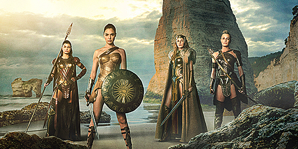 Amazon Warriors in Wonder Woman