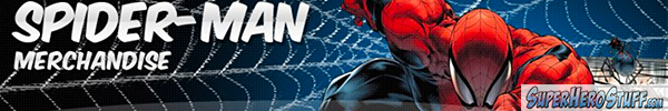 Spider-man Banner Ad SuperheroStuff.com