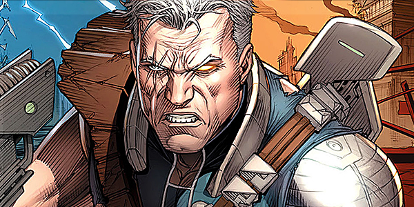 Cable's Mug from the Comics