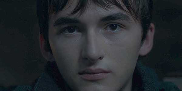 Bran Stark the Tree Eyed Raven in Game of Thrones