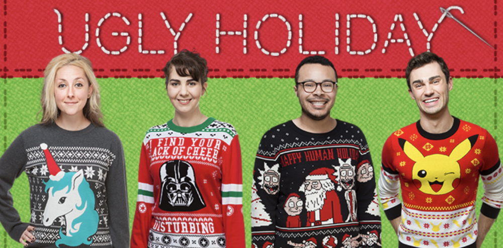 Ugly Holiday Sweater THINK GEEK Ad.png