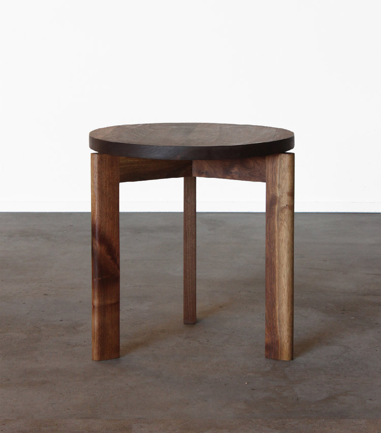 Sunfair Walnut Side Table