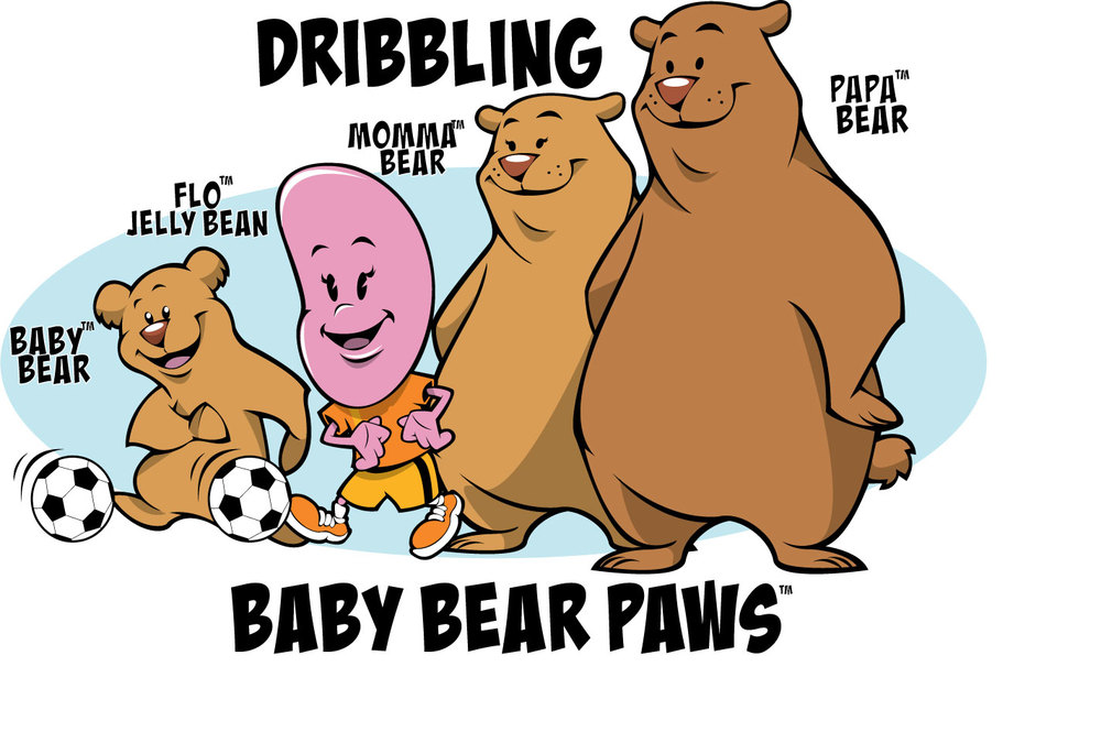 Three bears dribbling method...too fast, too slow, just right!