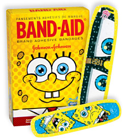 spongebobbandaid
