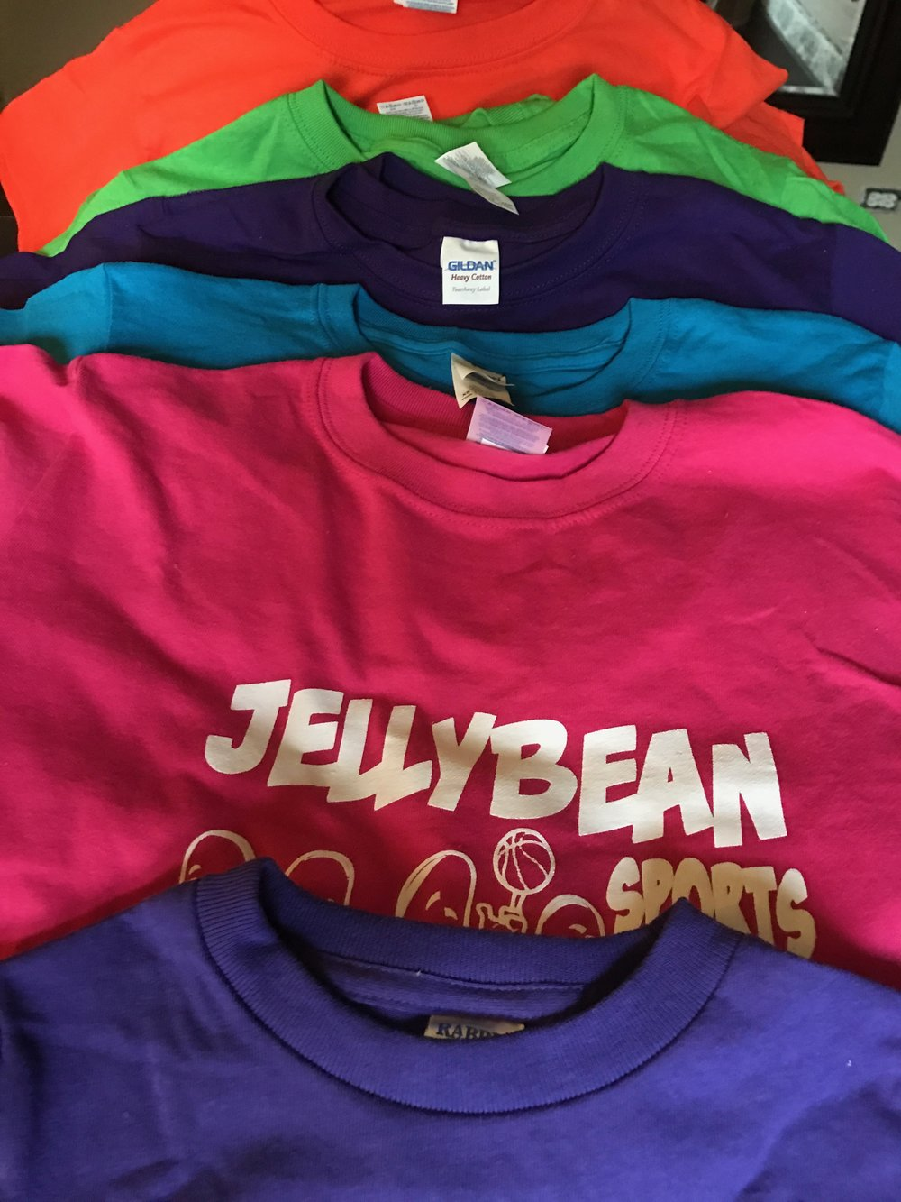 Color and Contrast - Each child participant receives a FREE Jelly Bean tee.