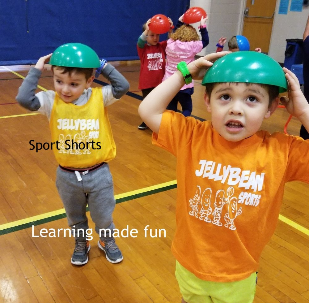 Children where bowls on their head