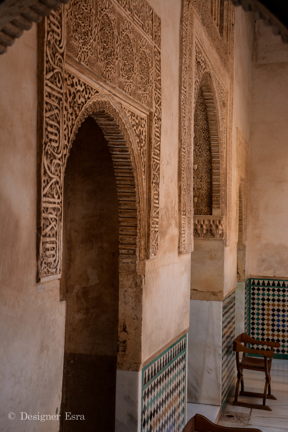 Islamic Patterns in Granada