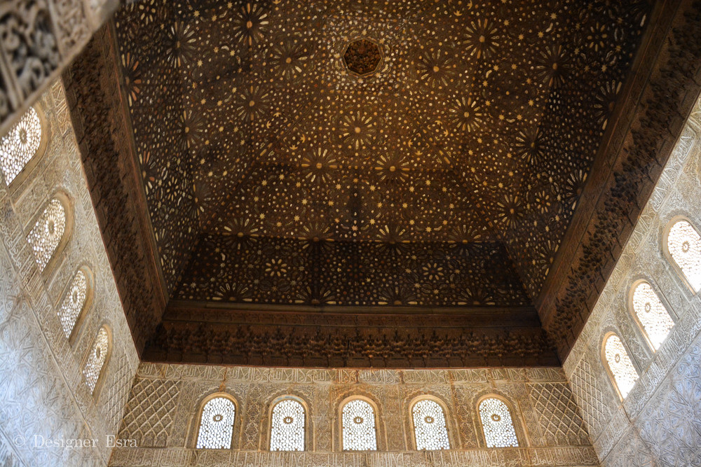 Islamic geometric and biomorphic patterns