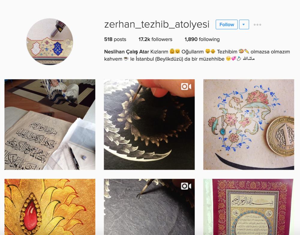 https://www.instagram.com/zerhan_tezhib_atolyesi/