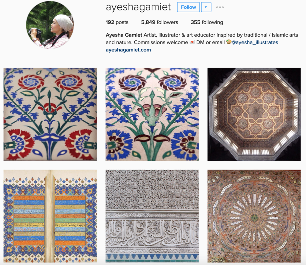 https://www.instagram.com/ayeshagamiet/