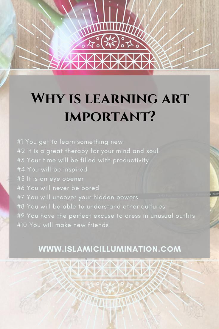 Importance of Art, 10 reasons to learn art