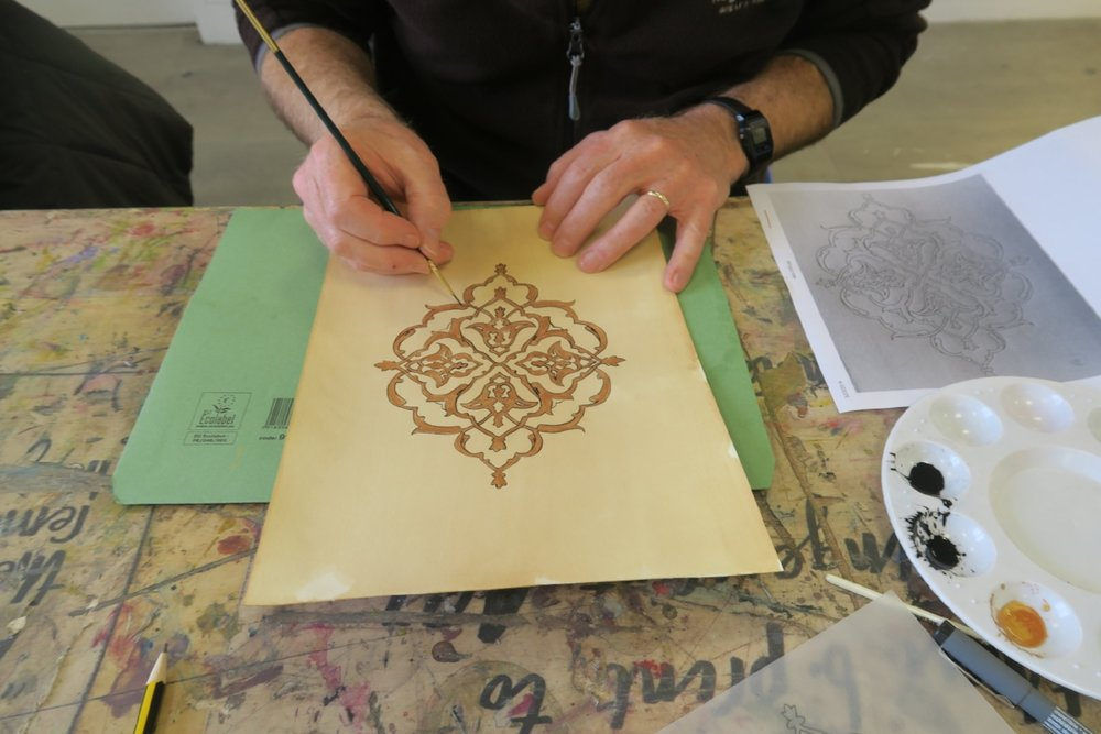 Team Building Islamic Art Workshop London