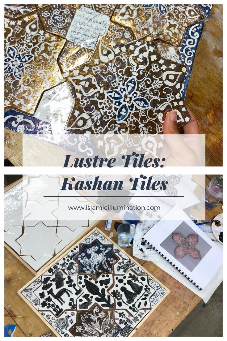 Lustre Tiles:Kashan Tiles