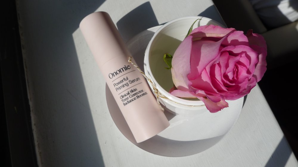 Multi-tasking products like Powerful Priming Serum by Onomie are great for busy bees.