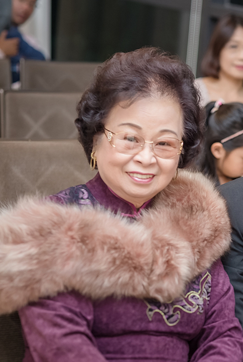 Tricia's grandmother (77)often gets mistaken as Tricia's mother. Her glowing skin makes her appear younger than her real age! (Photo taken in November, 2016)