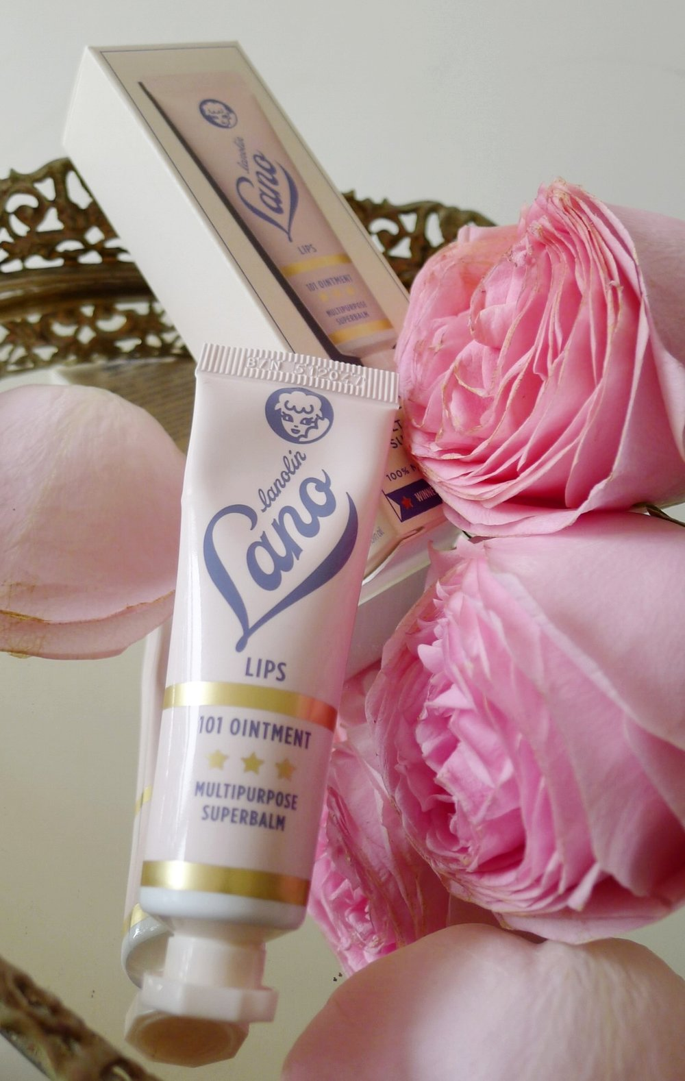 Lanolip's 101 Ointment comes in a cute small pink tube for easy usage.