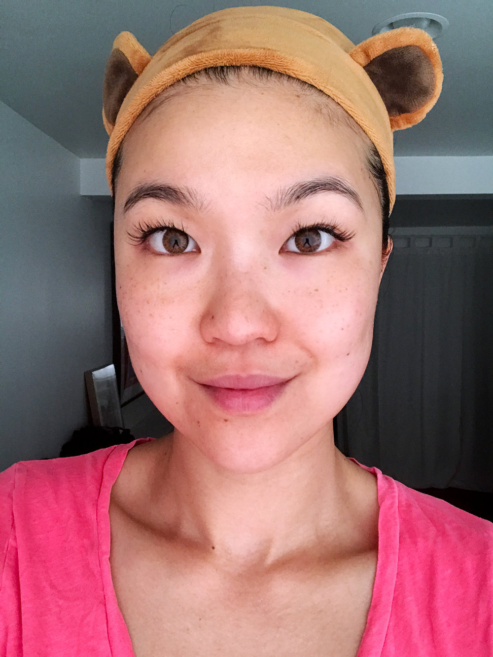 Day 1 (May 1st): How my skin looked before this #21DayMaskChallenge started.