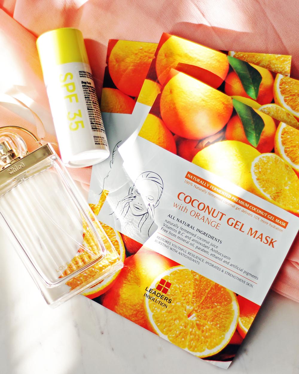 Image result for Coconut Gel Mask With Orange