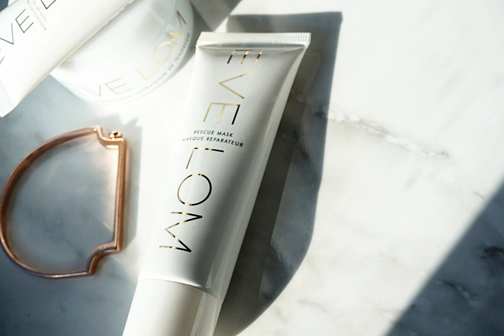 Eve Lom's signature white packaging and gold lettering is sleek and chic.