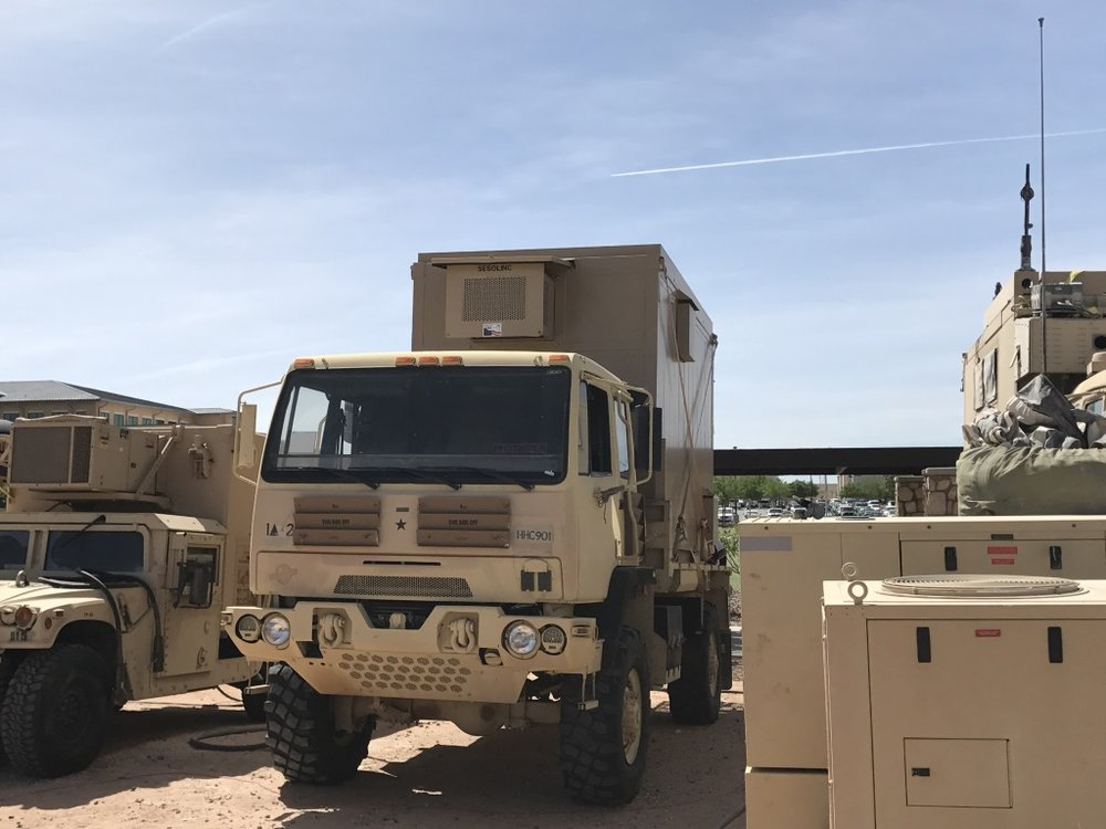 Proud to Serve the following Clients - SESOLINC systems have been inspected and approved for sale by FORSCOM Maintenance, Army Material Command, TACOM and MARSYCOM.