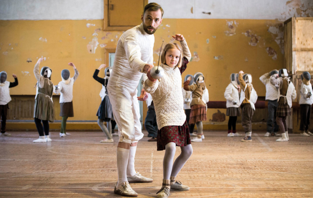 'The Fencer,' shot in Estonia